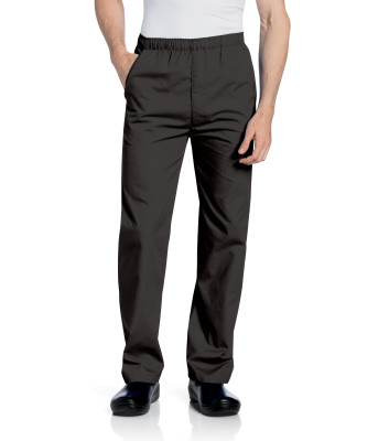 Landau Essentials 3 Pocket Scrub Pants for Men: Classic Relaxed Fit, Elastic, Straight Leg Cargo Medical 8550-Landau