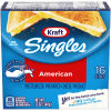 Kraft Singles American Cheese Slices, 12 oz (16 slices)