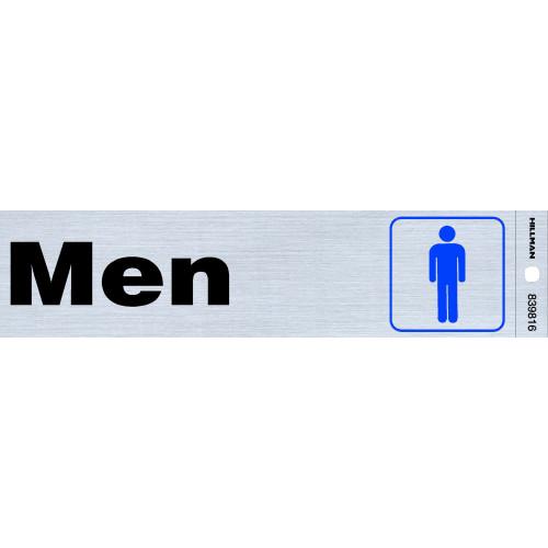 Men's Restroom Sign (2