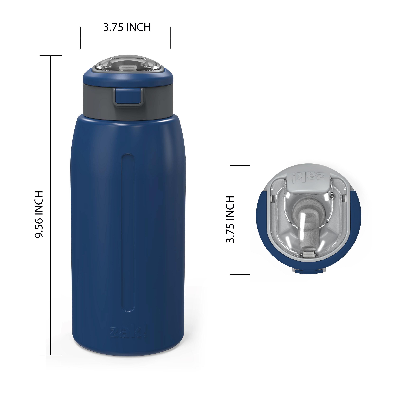 Genesis 32 ounce Stainless Steel Water Bottles, Indigo slideshow image 7
