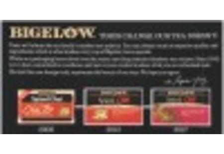 Top of Spiced Chai Black Tea box