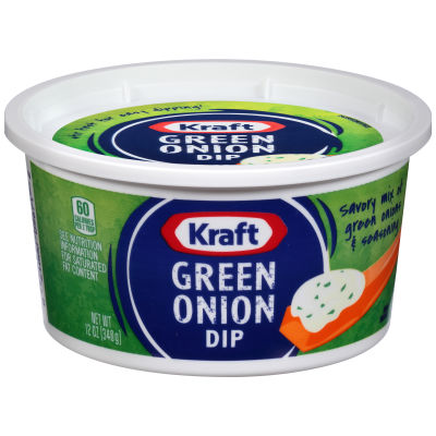 Kraft Green Onion Dip 12 oz Tub