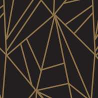 Swatch for Printed Duck Tape® Brand Duct Tape - Gold Geometric, 1.88 in. x 10 yd.