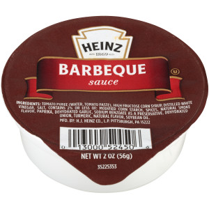 HEINZ Single Serve Barbecue Sauce, 2 oz. Cups (Pack of 60) image