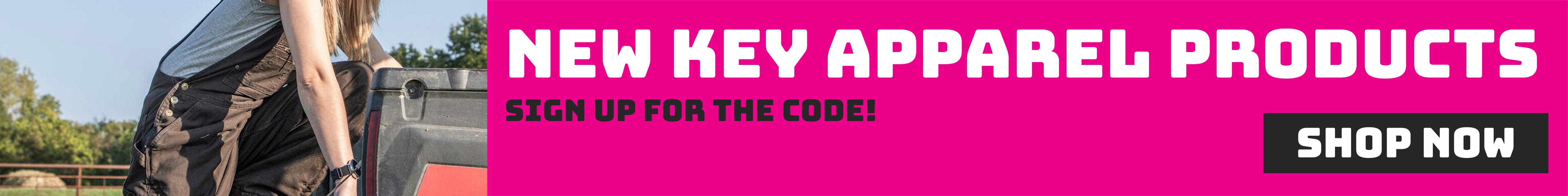 Shop Key Apparel Now!
