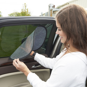 Car Window Cling Shades, 2 Pack