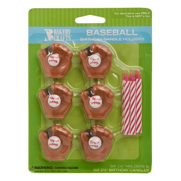 Baseball Candle Holder