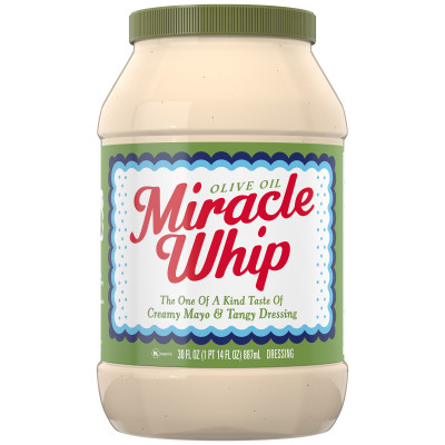Miracle Whip Dressing with Olive Oil 30 fl oz Jar