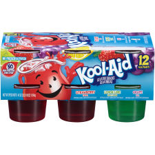 Kool-Aid Sugar Sweetened Ready To Eat Gelatin Variety Pack 12 count Sleeve