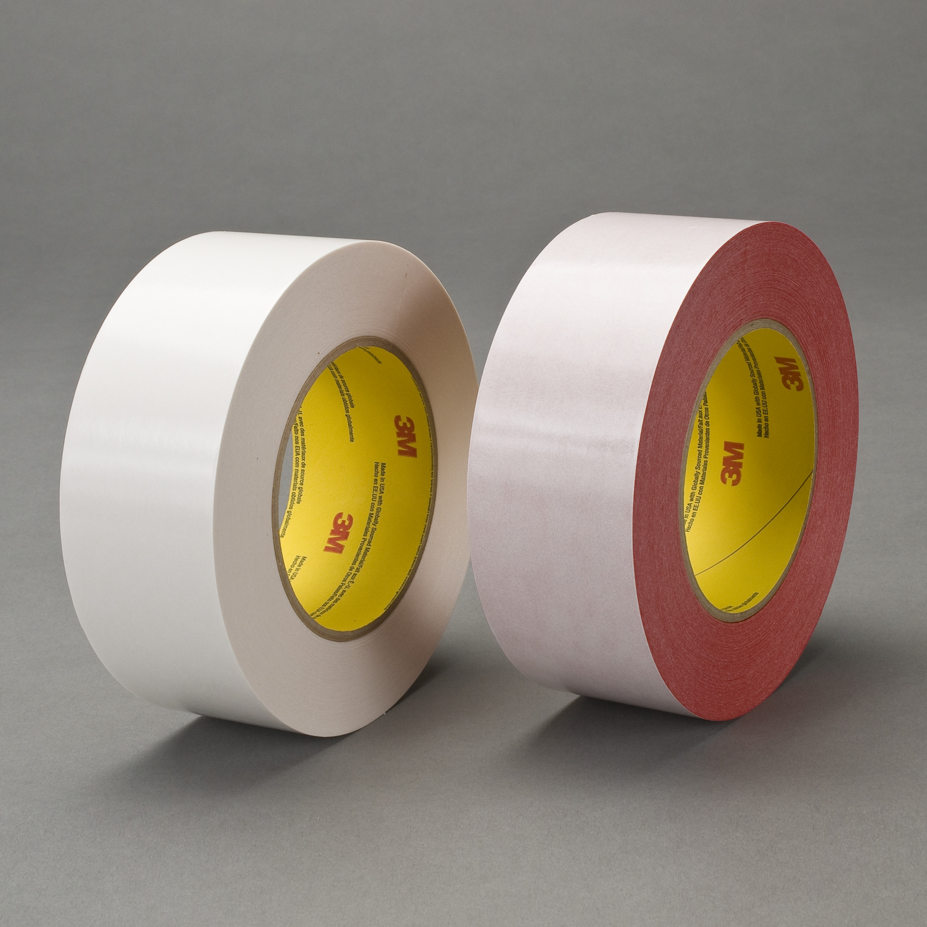 3M™ Double Coated Tape 9738R, Red, 48 mm x 55 m, 4.3 mil, 24 rolls per case