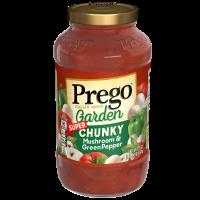 Mushroom & Green Pepper Sauce