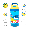 Baby Shark 16 ounce Water Bottle, Underwater Friends slideshow image 8