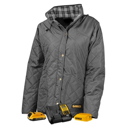DEWALT® DCHJ084 Women's Flannel Lined Quilted Jacket Kitted