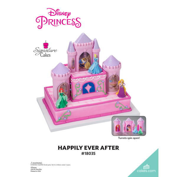 Disney Princess Happily Ever After Signature DecoSet® The Magic of Cakes® Page