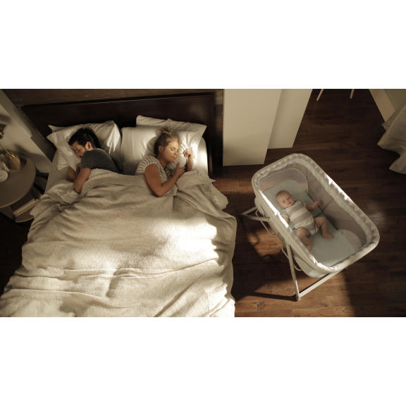 FoldAway Rocking Bassinet™ � Juniper™
