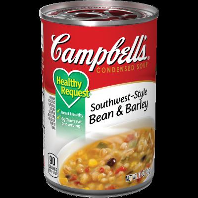 Southwest-Style Bean & Barley Soup