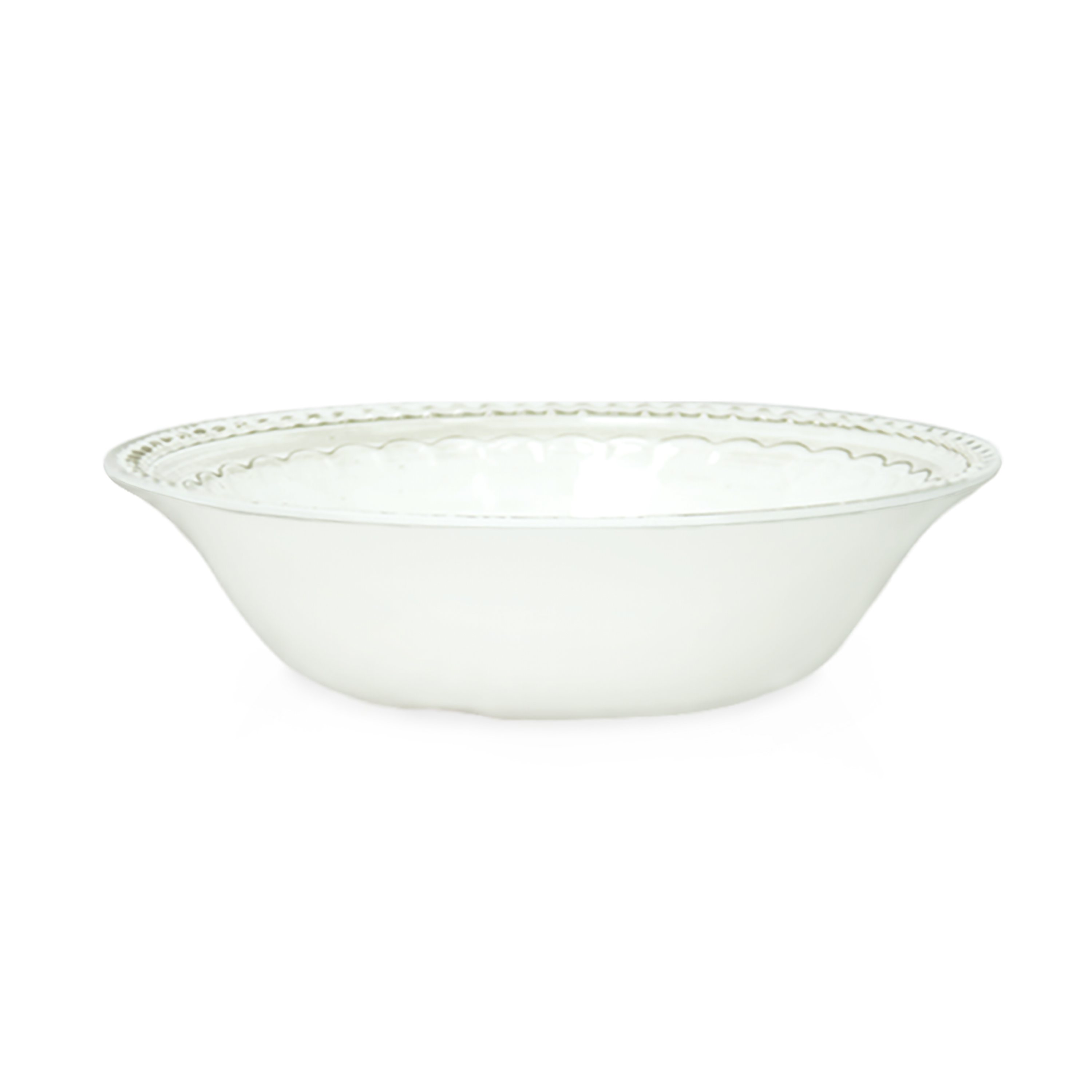 French Country Plate & Bowl Sets, White, 12-piece set slideshow image 5