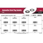Automotive Drain Plug Gaskets Assortment (Fiber)