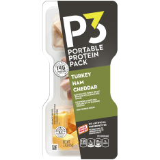 Oscar Mayer P3 Oven Roasted Turkey Protein Power Pack Tray, 2.3 oz