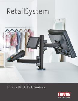 Novus RetailSystem Product Brochure