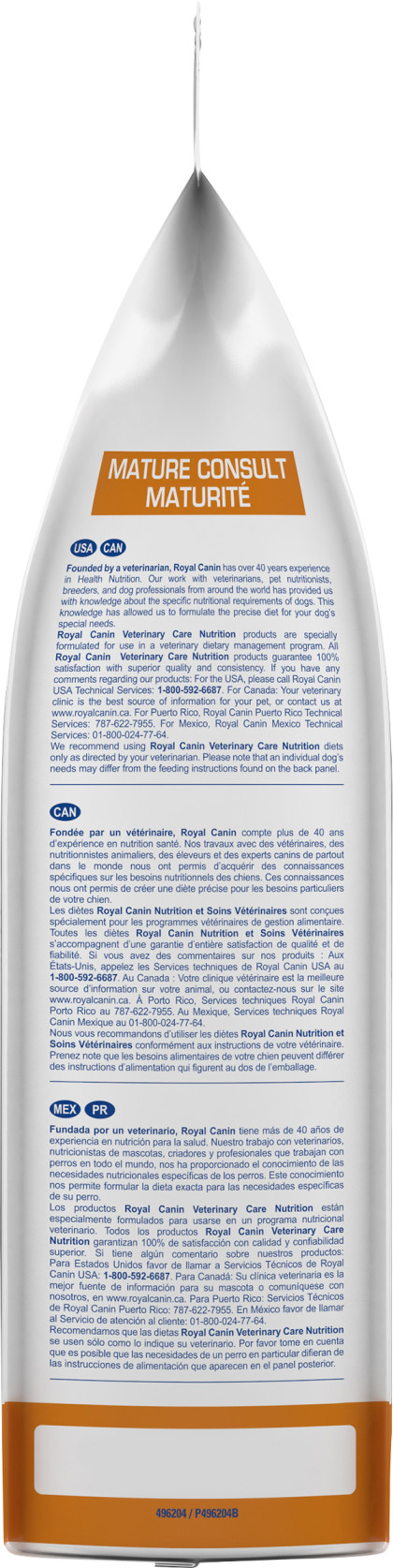 Royal Canin Veterinary Diet Canine Mature Consult  Dry Dog Food