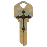 WacKey Cross Key Blank