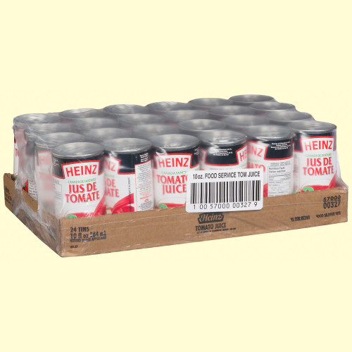 HEINZ Tomato Juice Classic Pack 284ml 24