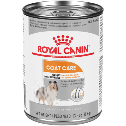 Coat Care Loaf in Sauce Canned Dog Food