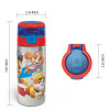 Paw patrol 19.5 ounce Stainless Steel Water Bottle with Straw, Chase, Skye & Rubble slideshow image 5