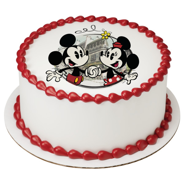 Mickey And Minnie And Friends Cake Decopac