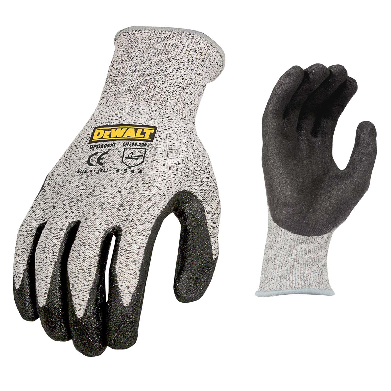 DEWALT DPG805 Cut Protection Level A4 Work Glove