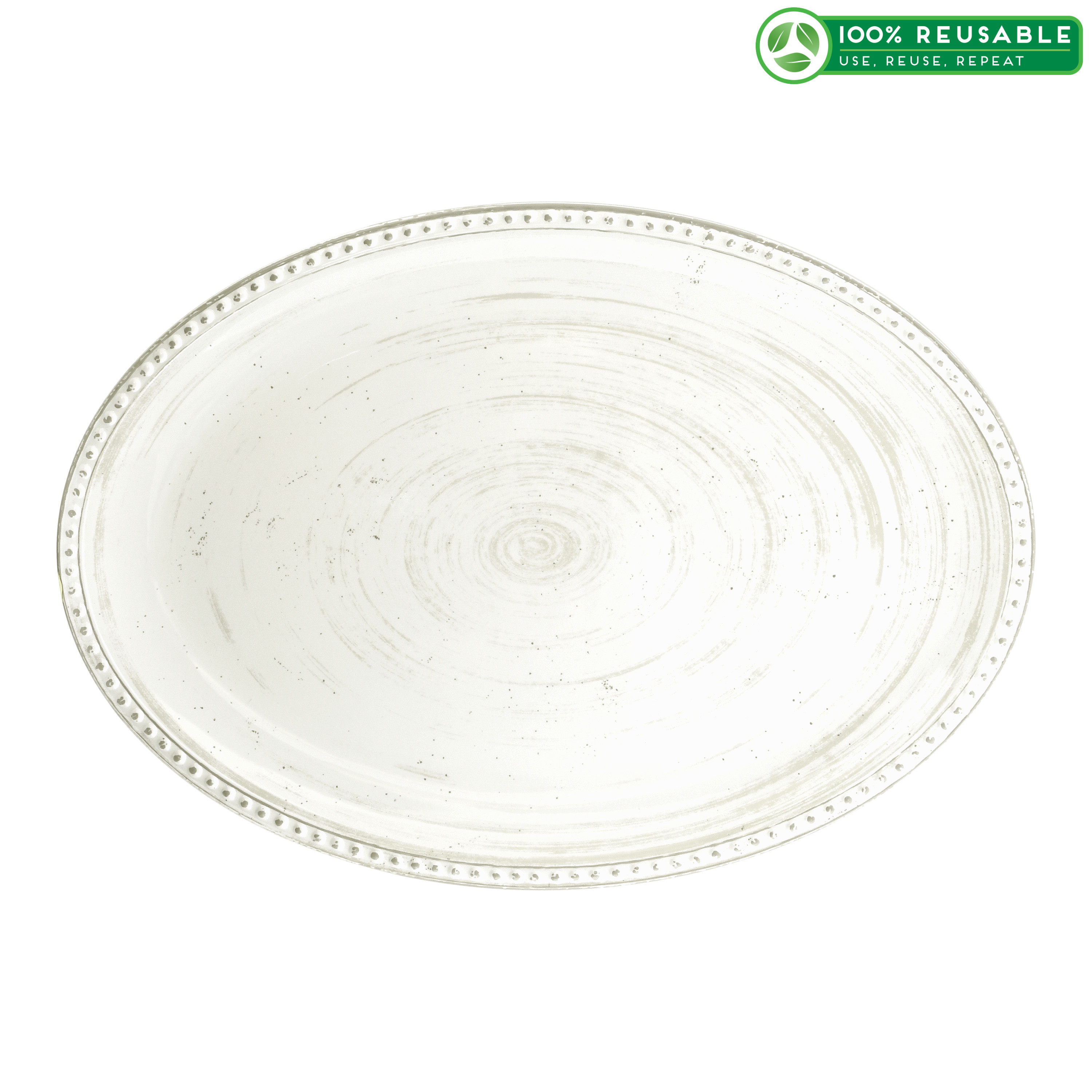 French Country Serving Tray, Oyster slideshow image 1