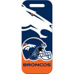 Denver Broncos Large Luggage Quick-Tag