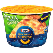 Kraft Easy Mac Pizza Cheese Macaroni & Cheese Dinner 2.05 oz Tub