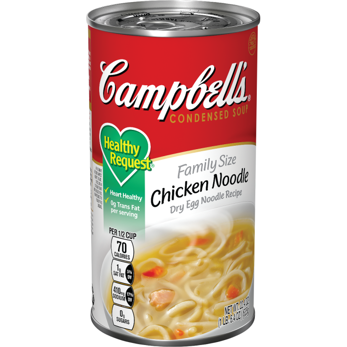 Family Size Healthy Request®Chicken NoodleSoup