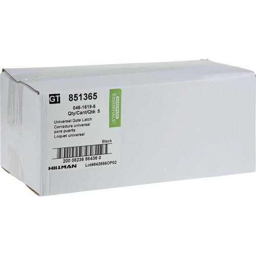 Hardware Essentials Gate Latch Black