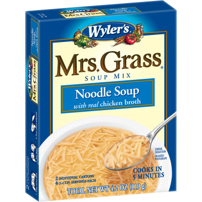 Wyler's Mrs. Grass Noodle Soup Mix 4.2 oz Box