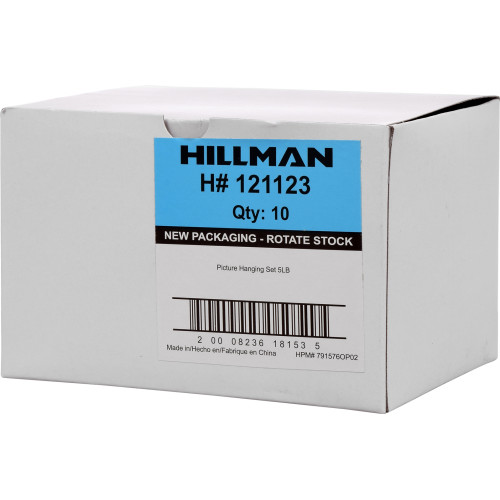 Hillman Picture Hanging Kit Set 5lbs