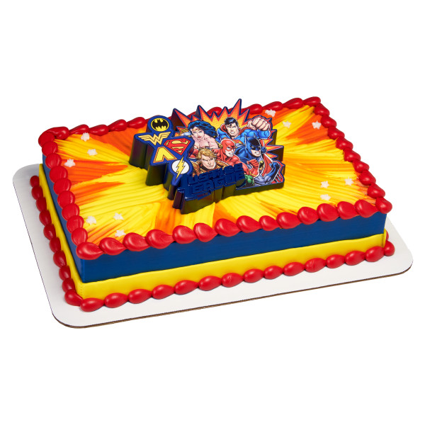 Justice League Cake Decorating Kit : DecoPac