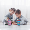 Paw Patrol 15  ounce Plastic Tumbler with Lid and Straw, Marshall and Skye, 2-piece set slideshow image 8