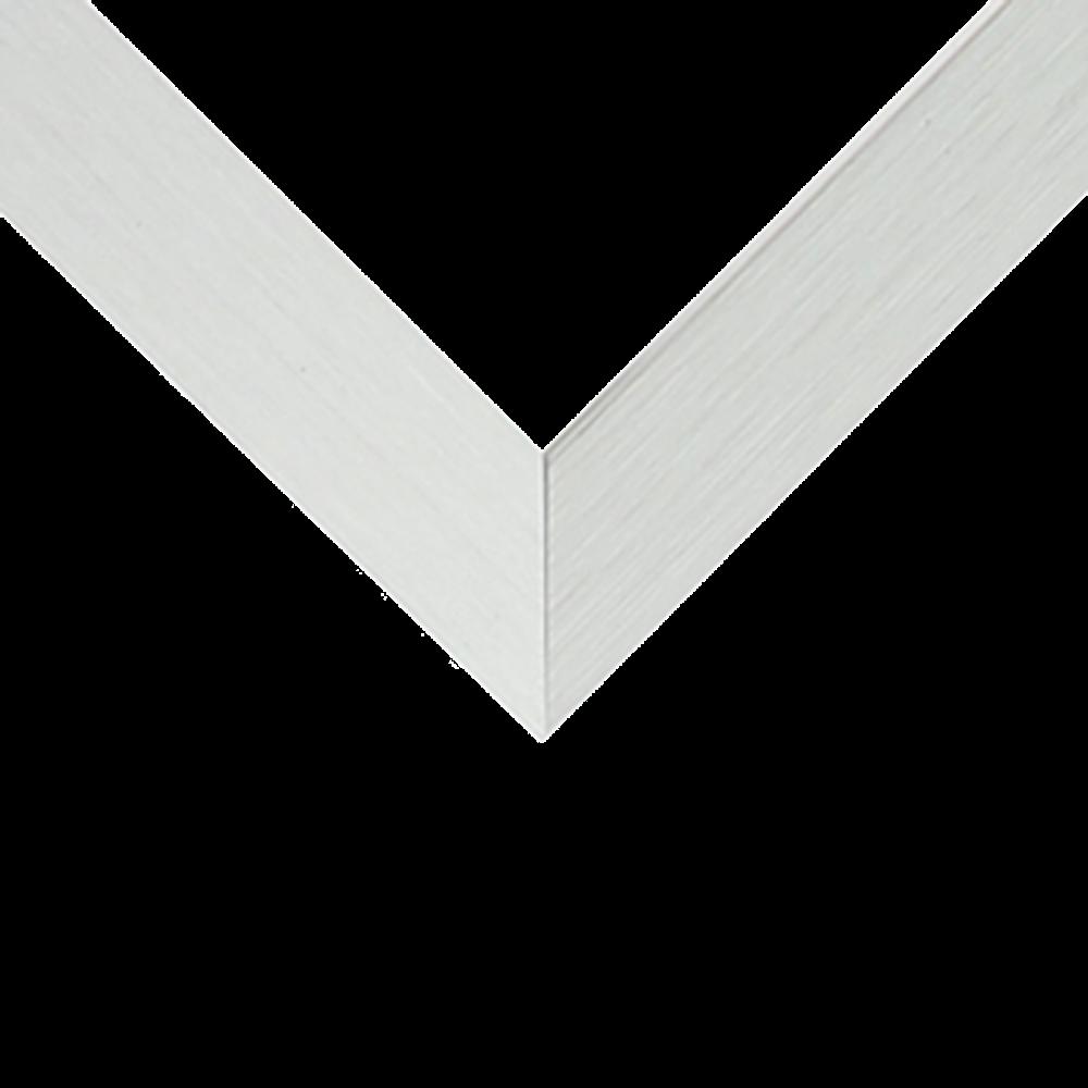 Nielsen Satin Brushed Aluminum 7/16