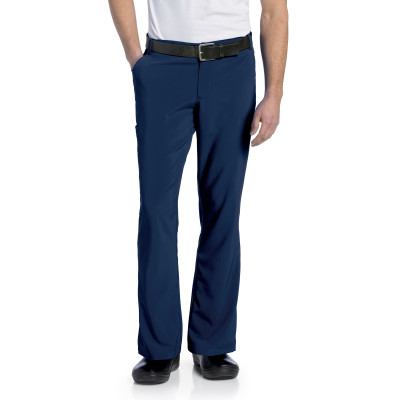 Landau Essentials 4 Pocket Scrub Pants for Men: Relaxed Fit, 4-Way Stretch, Straight Leg Cargo Medical 2037-