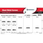 #10 Combo Pan-Head Sheet Metal Screws Assortment