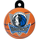 Dallas Mavericks Large Circle Quick-Tag