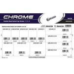 "Chrome Knurled-Head Socket Cap Screws Assortment (5/16""-18 Thread)"