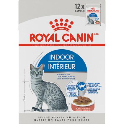 Royal Canin Feline Health Nutrition Indoor Adult Pouch Cat Food