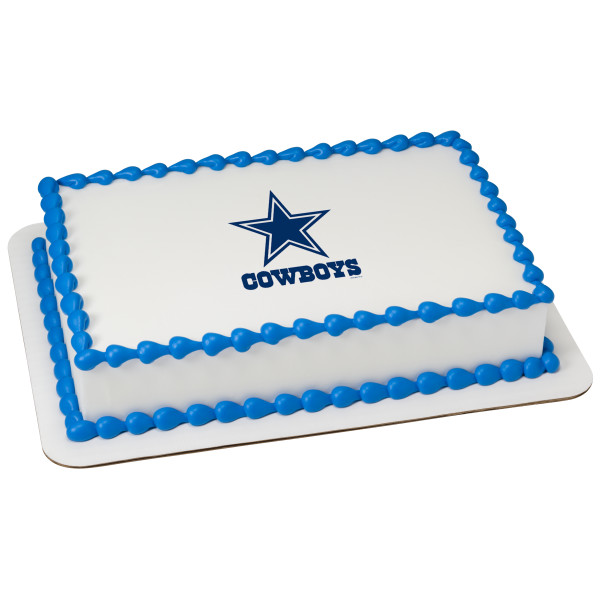NFL Dallas Cowboys Edible Image®