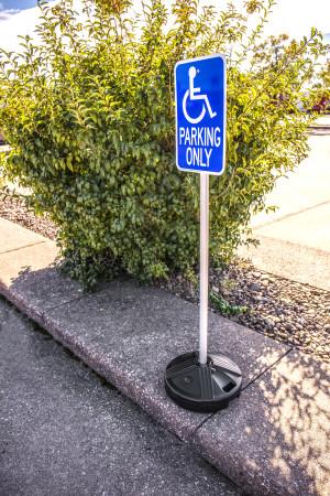 Sign Post Kit - Prefilled Base 9