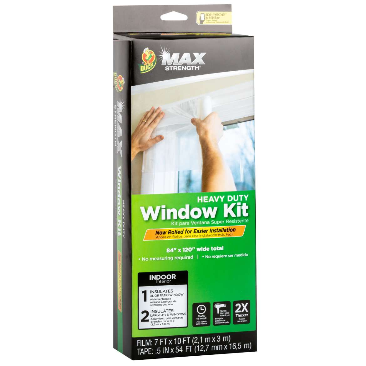 Duck Max Strength® Rolled Window Kit