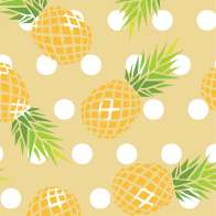Swatch for Printed Duck Tape® Brand Duct Tape - Pineapple Delight, 1.88 in. x 10 yd.